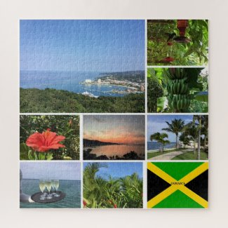 Jigsaw puzzle featuring Jamaica