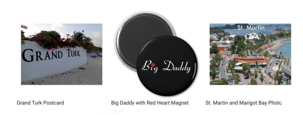 Latest products sold for Celeste Sheffey from her Zazzle shop during the month of March 2020.