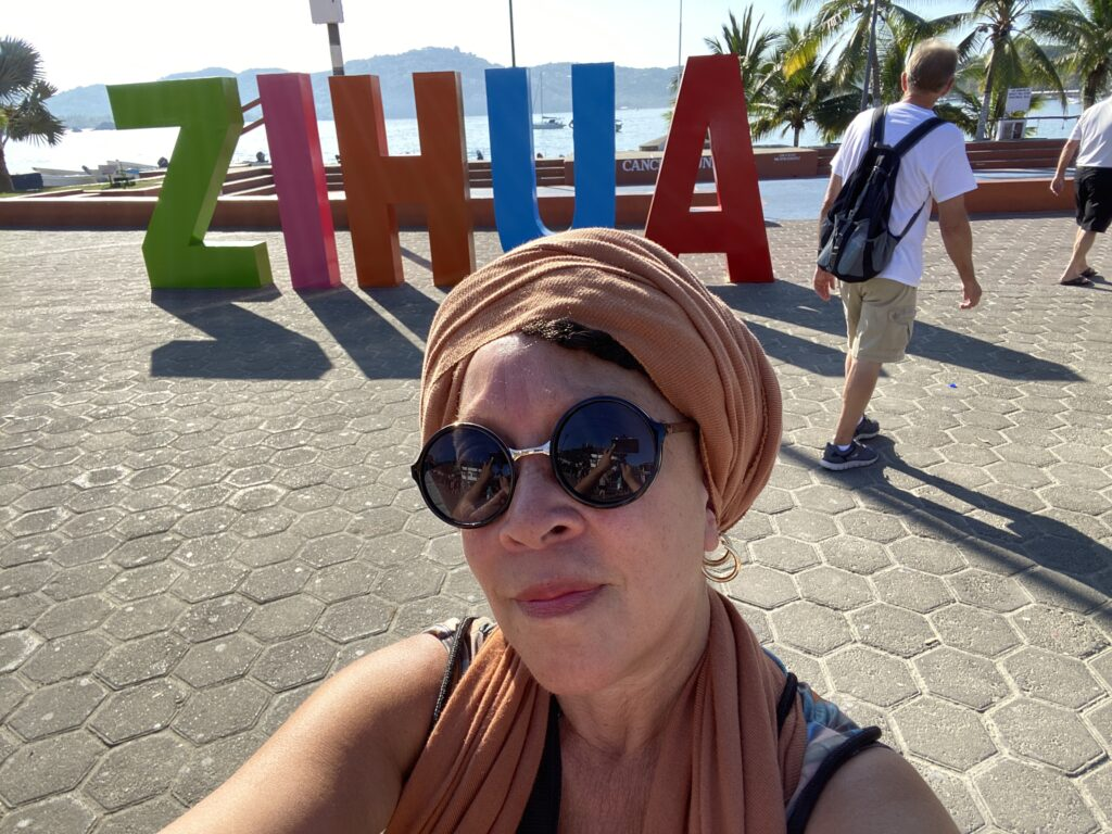 Cruising to and visting Zihuatanejo, Mexico