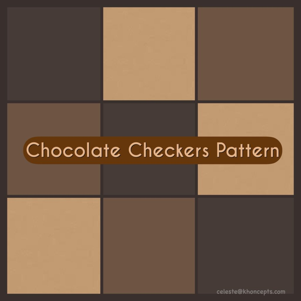Beautiful shades of brown patterns and designs