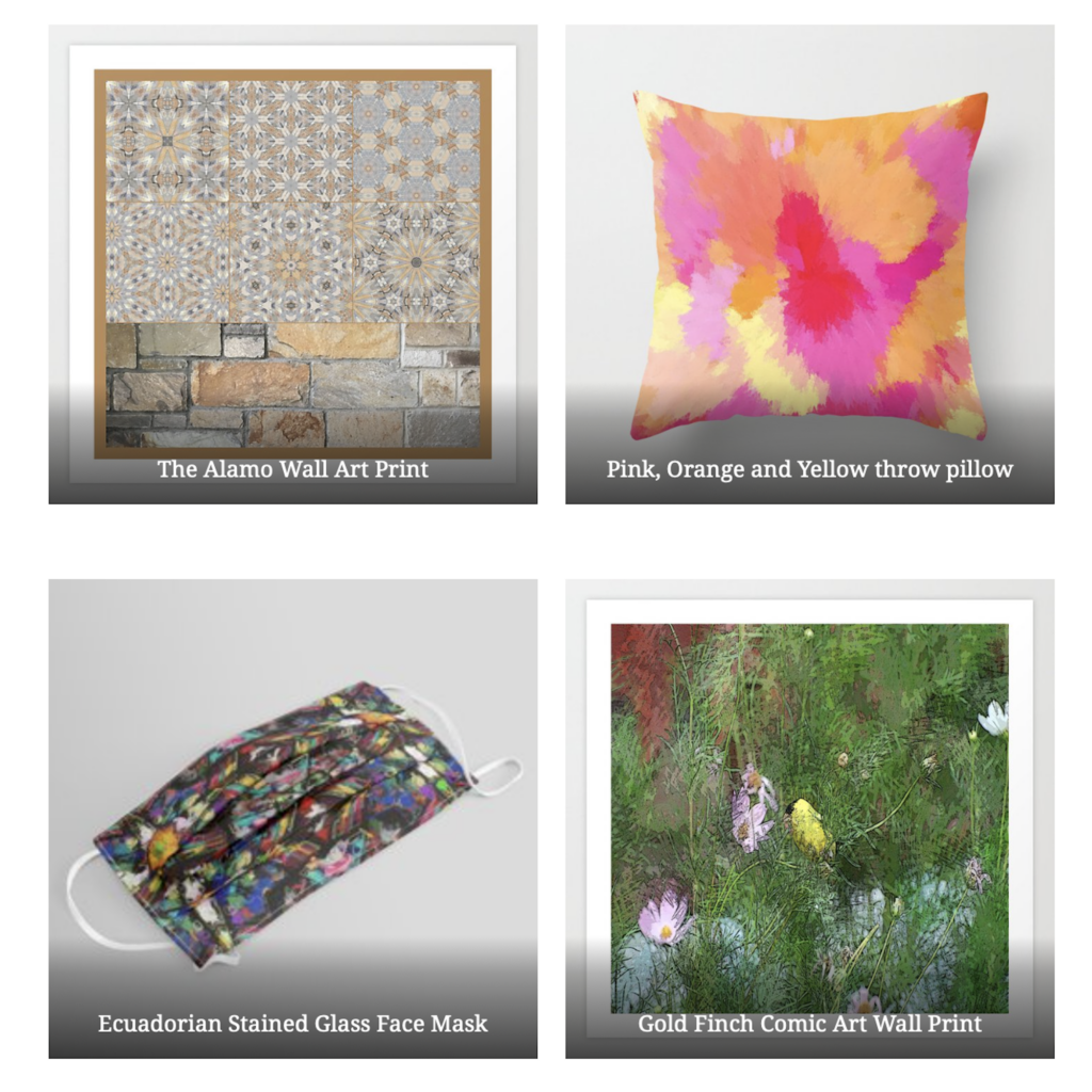 Society6 print on demand seller sales