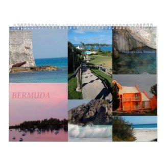 Calendar of scenic images of Bermuda