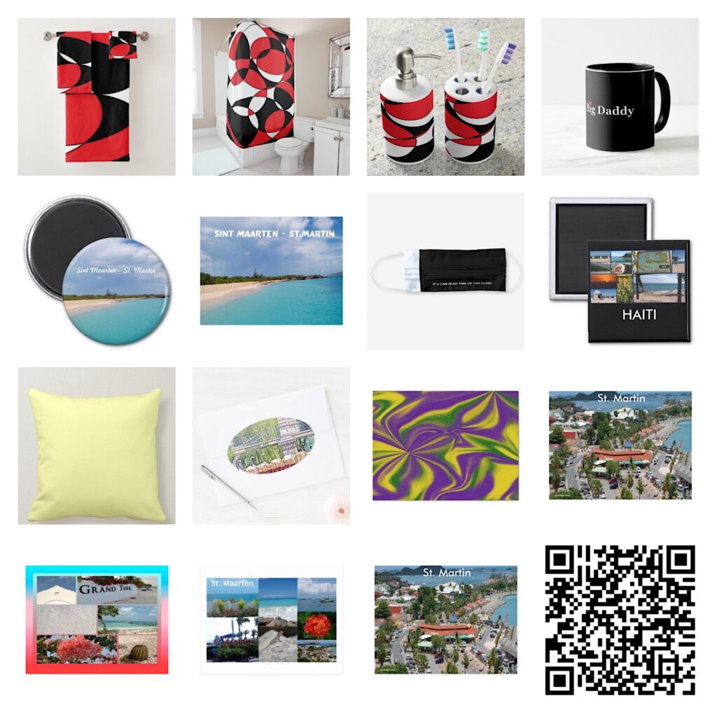 Featured collage of artwork sold in August 2020