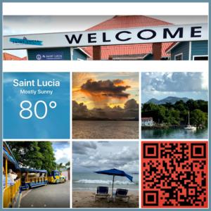 Travel Tuesday memory cruising to Saint Lucia