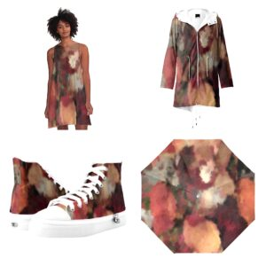 Wearable Wedneday Autumn color fashion wear