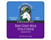 raw feta