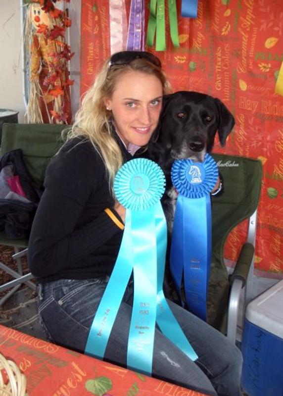 2009 CDS/USDF Championships, 10/01/09 - Verena and Sophie