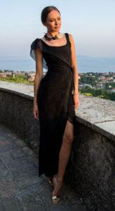 Designer Tjasa Skapin fashion show at Cannes Fashion and Global Short Film Awards