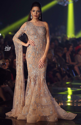 Designer Hany El Behairy fashion show at Cannes Fashion and Global Short Film Awards Gala
