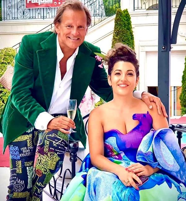 Soprano Nicola Said with world-renowned violinist Edmond Fokker van Crayestein