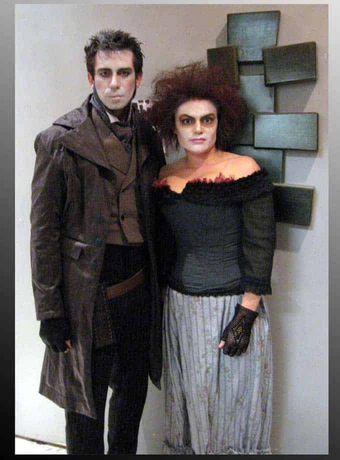 Sweeney Todd and Mrs. Lovett costumes created by McGrews