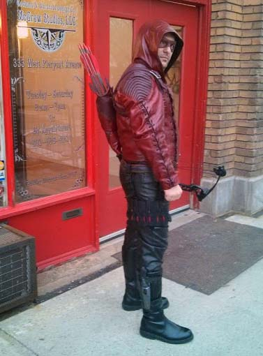 Custom Leather: ARSENAL Jacket and Quiver