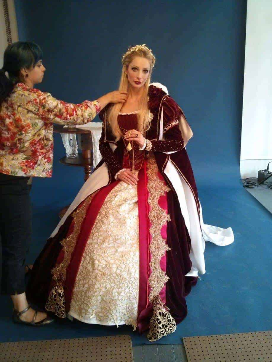 bts_hair_makeup_16th_century_costume_miss_italy_multiverse