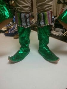 Custom Boots and Spats: Kris Kringle the Musical