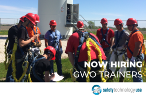 We're hiring GWO trainers