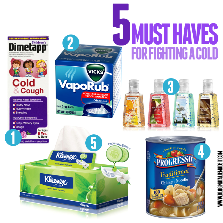 5 Must Haves for Fighting a Cold