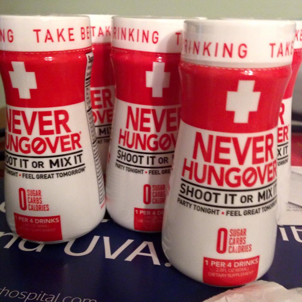 Hangover Prevention with Never Hungover