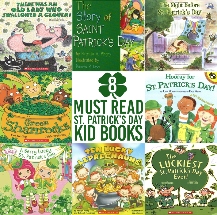 8 Must Read St Patrick's Day Kid Books