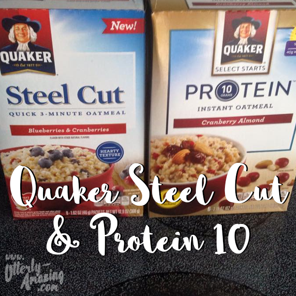 Start Your Day with Quaker Steel Cut & Protein 10!