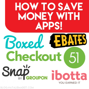 How to SAVE MONEY with Apps!