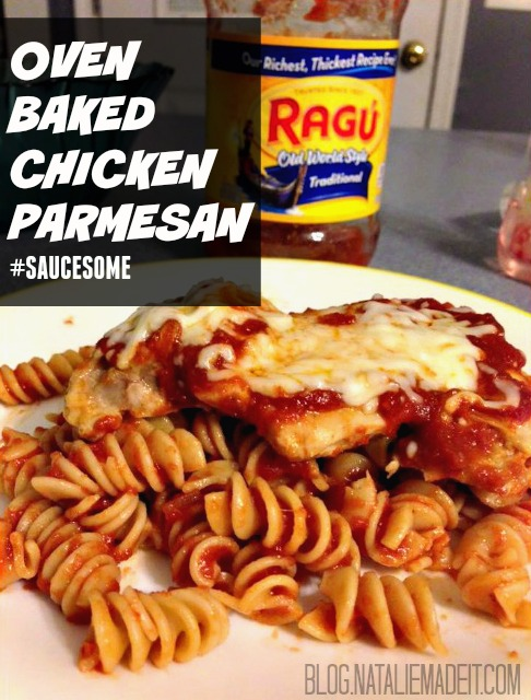 Oven Baked Chicken Parmesan | #Saucesome