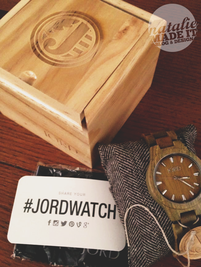 Natural Wooden Watches by Jord | #JordWatch