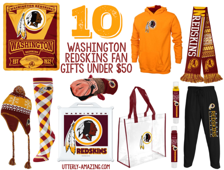 10 Gifts For A Washington Redskins Fan For Under $50