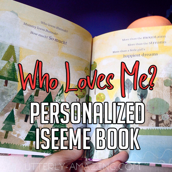 Who Loves Me? Personalized iSeeMe Book
