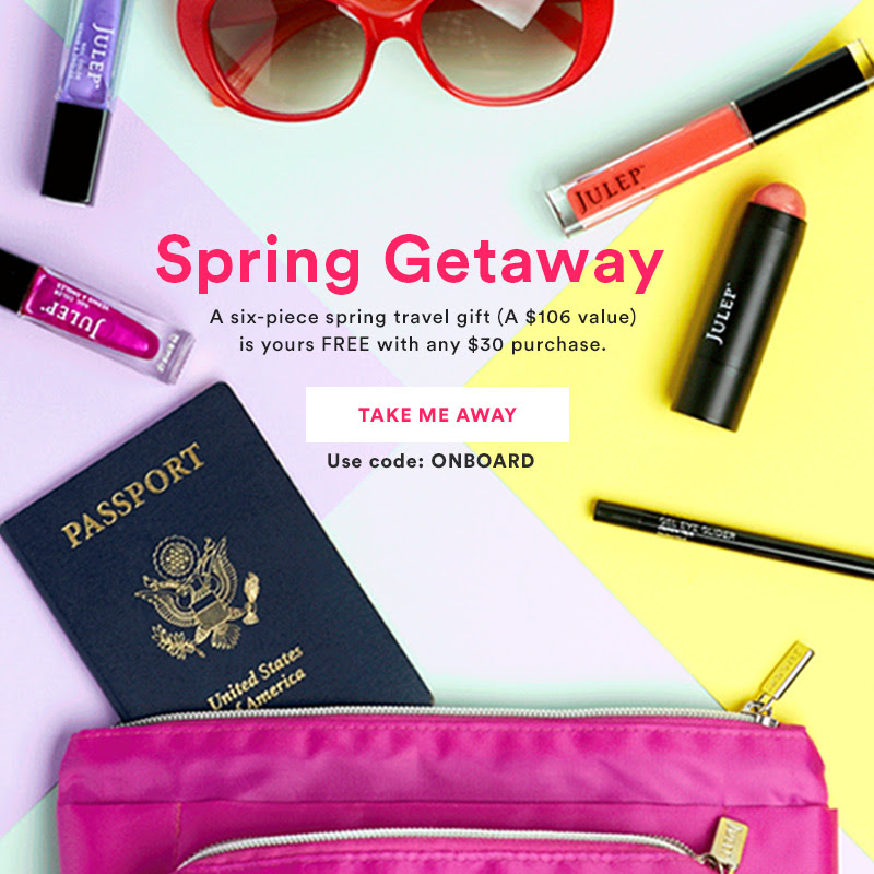 Free Spring Beauty Gift with any $30 Julep Purchase