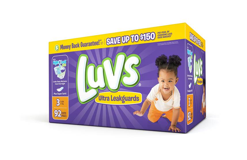Double The Savings on Luv Diapers Sept 25th & Oct 9th   #ShareTheLuv