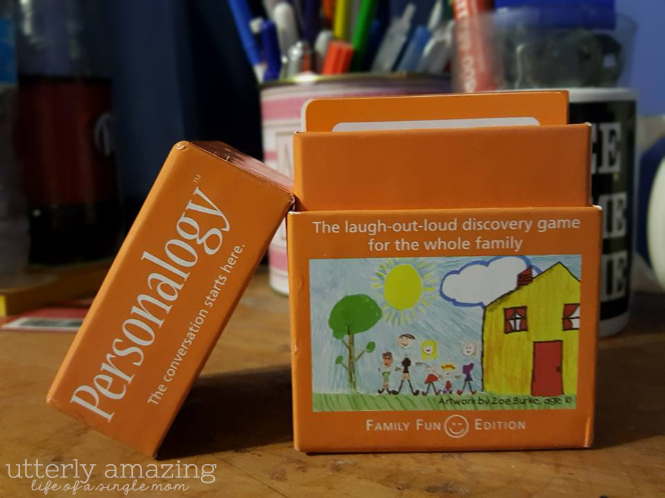 Personalogy | A Family Fun Game #HolidayGiftGuide