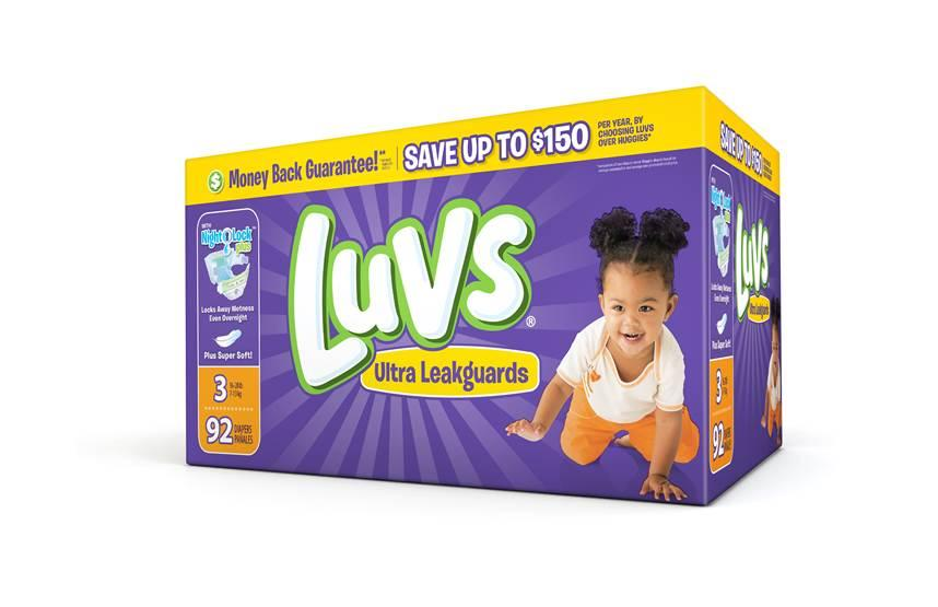 #ShareTheLuv With Luvs Diapers From My House To Yours