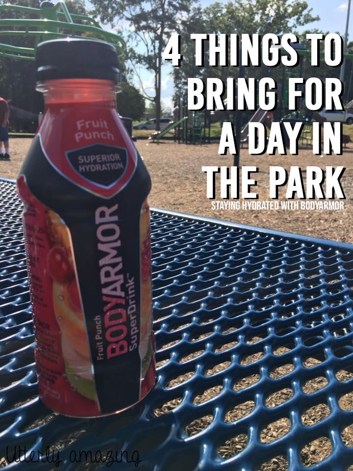 4 Things To Bring For A Day In The Park   Staying Hydrated with BodyArmor