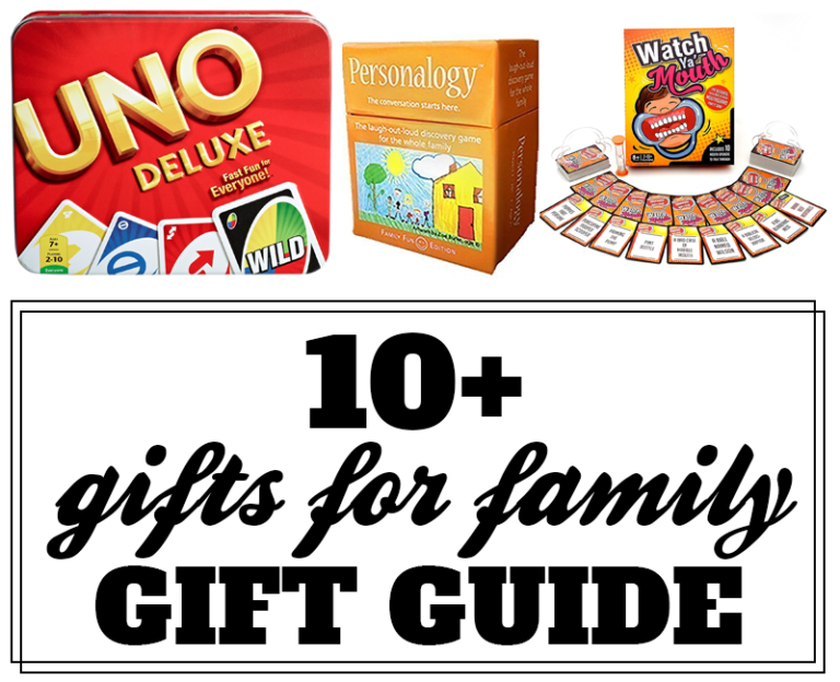 10+Fantastic Gifts for Family