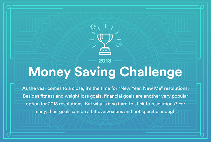 New Year, New Me with the Money Saving Challenge