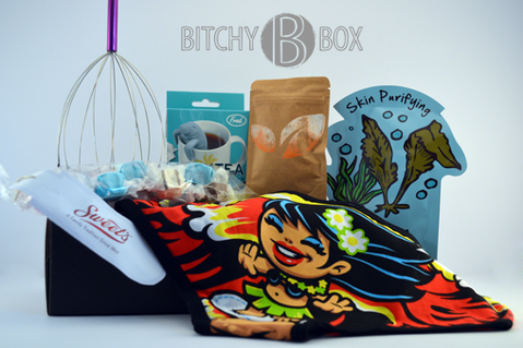 B*tchy B Box $20.00/month - period subscription boxes