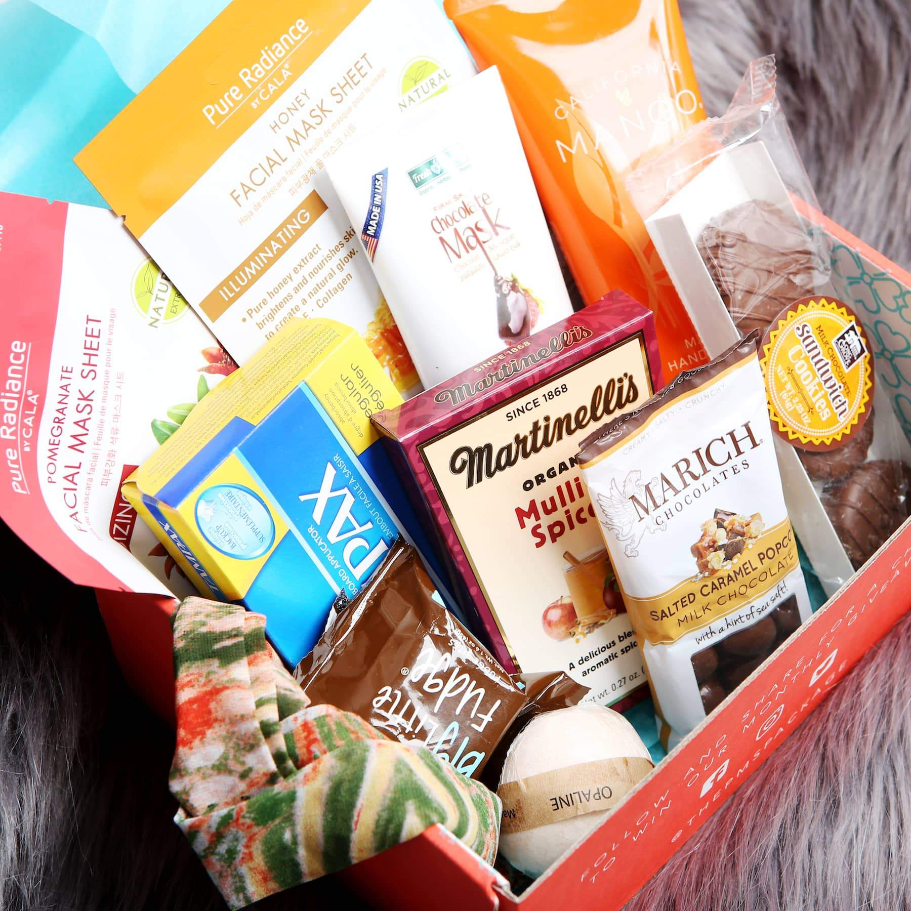 THE PMS PACKAGE $34.99/month - Period Subscription Boxes