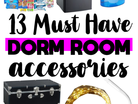 13 Must Have College Dorm Room Accessories