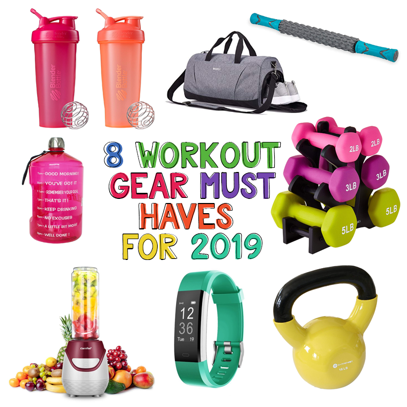 8 Workout Gear Must Haves For 2019 | #FridayFavorites