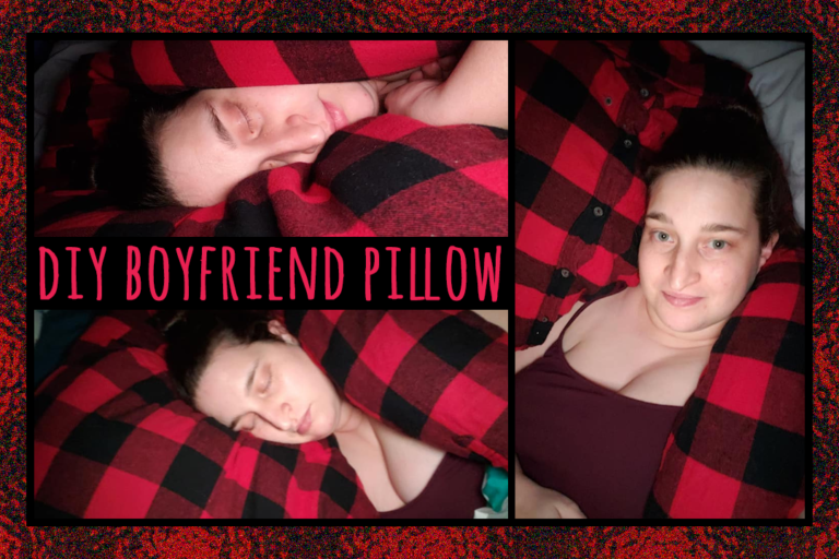 The Perfect Cozy Boyfriend Pillow Tutorial