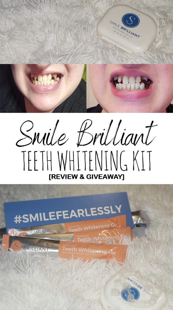 Smile Brilliant Teeth Whitening Kit Review & Giveaway