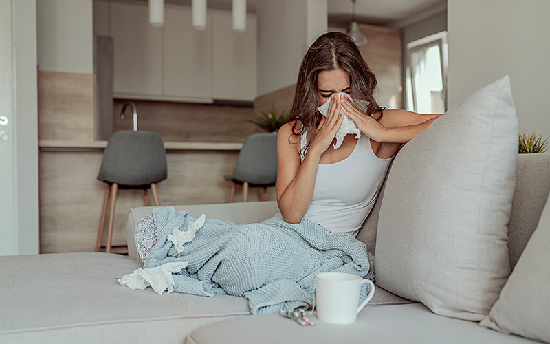 Best Workouts for When You're Sick