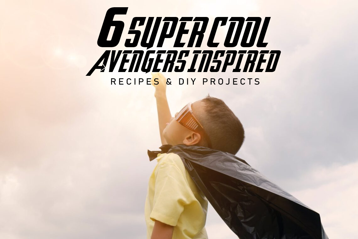 6 Super Cool Marvel-Inspired Recipes & DIY Projects