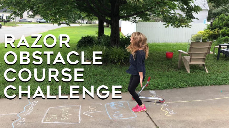 Razor Obstacle Course Challenge
