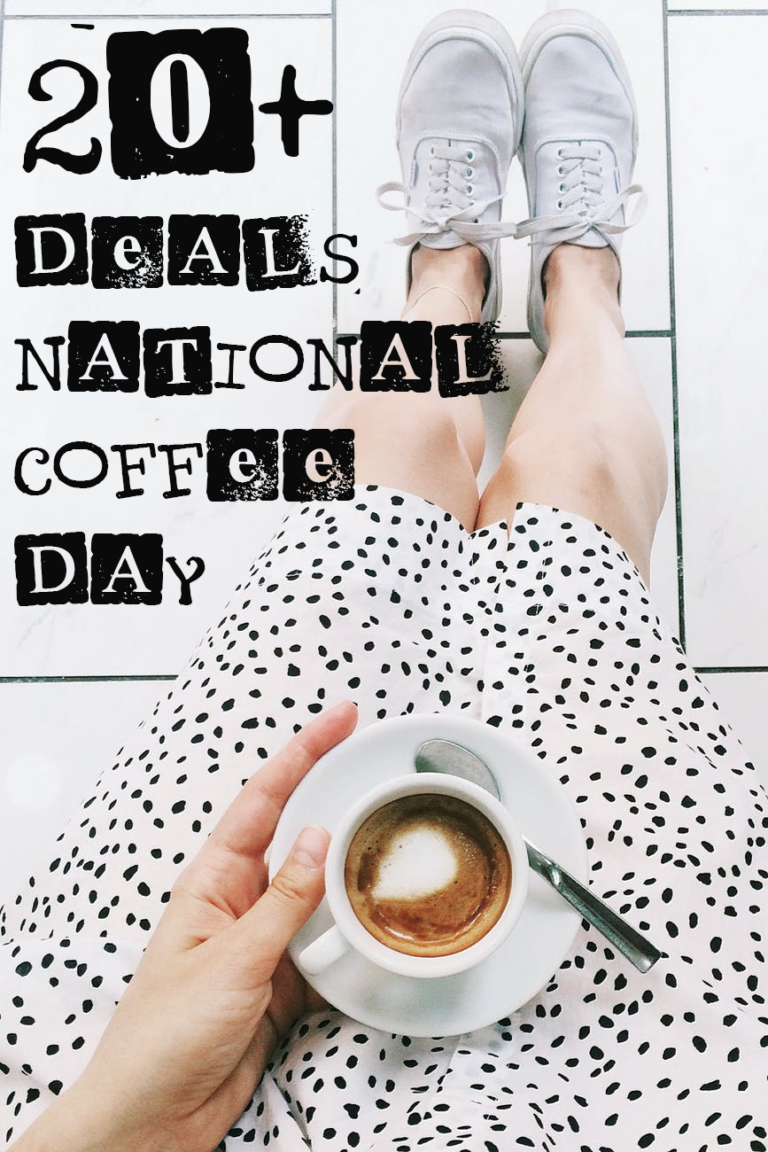 20+ National Coffee Day Deals