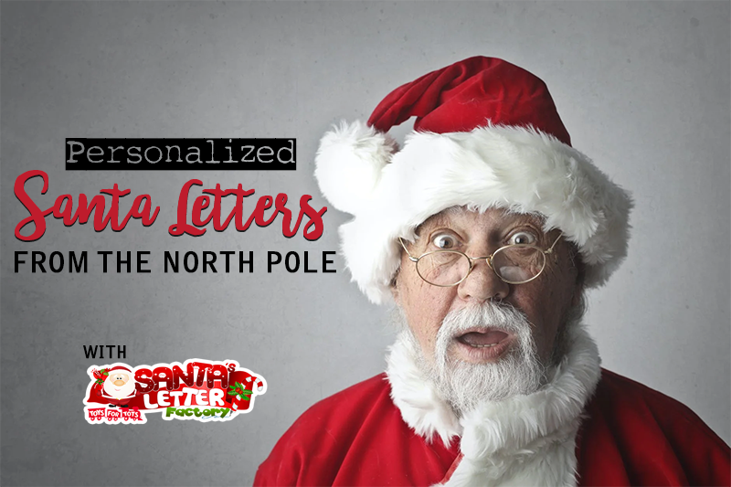 This Christmas, surprise your child or grandchild with the magical gift of a personalized letter and package of goodies from none other than Santa Claus.