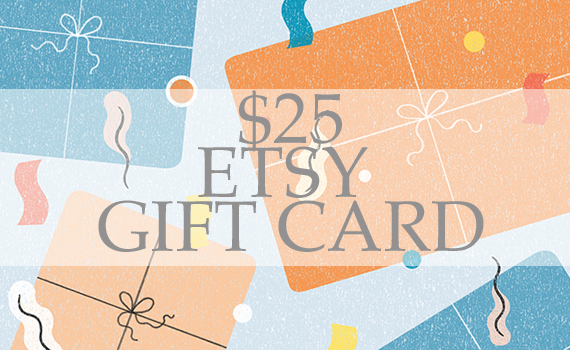 #EnterToWin $25 Etsy Gift Card Giveaway!