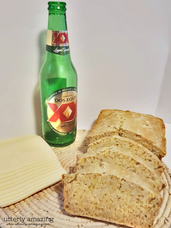 Beer Bread with Cheese & Garlic