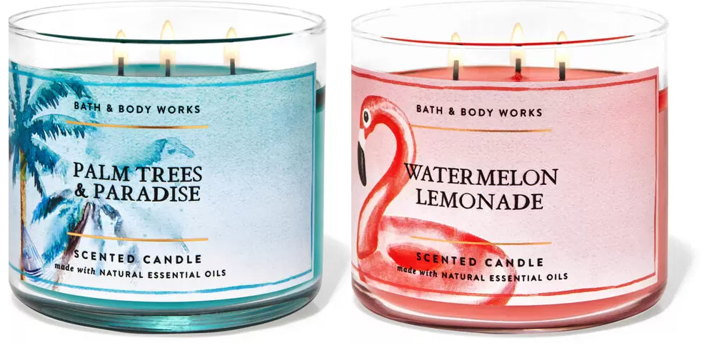 Bath & Body Works Semi Annual Sale on Selected Summer Items