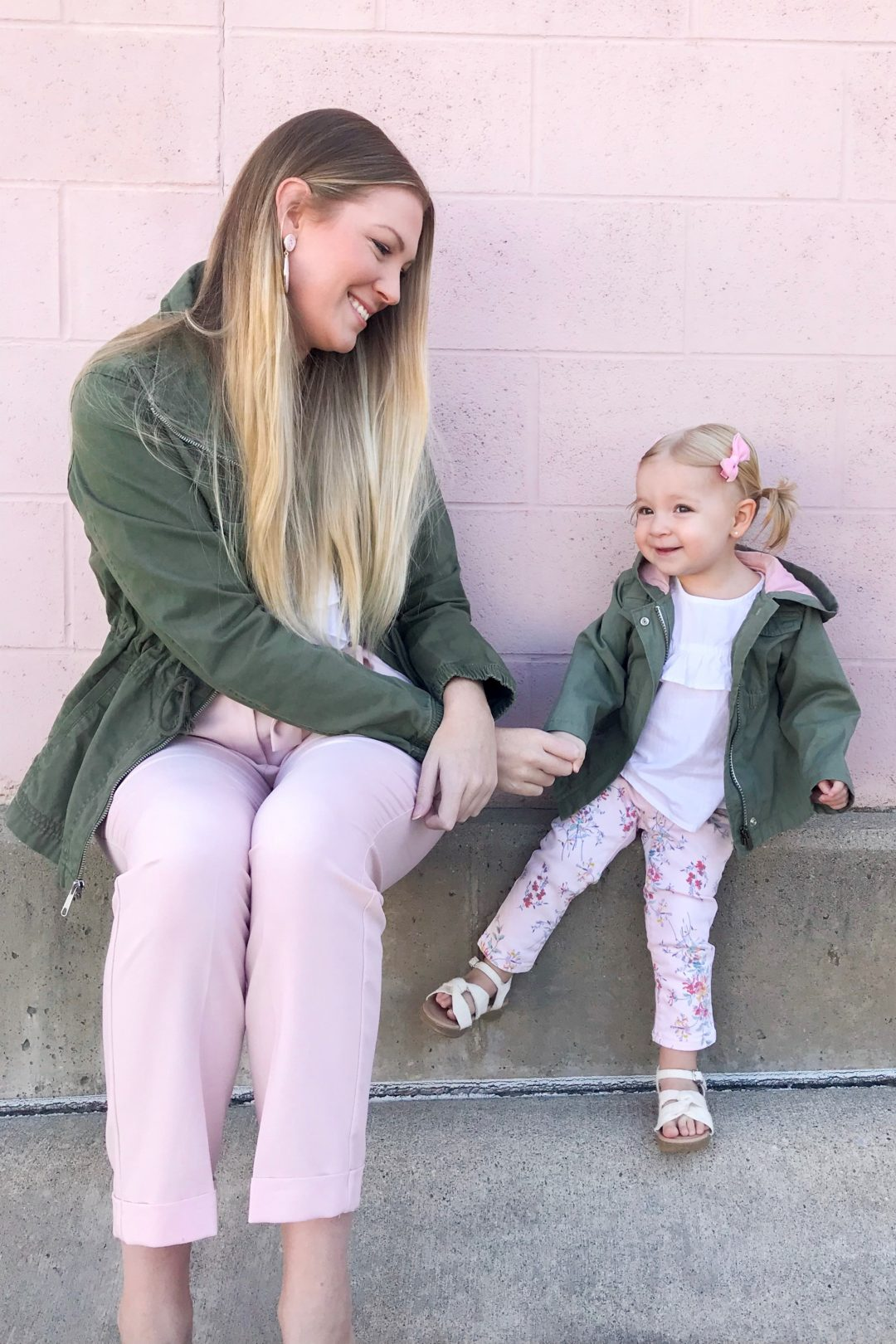 Khaki Anoraks & Pink Pants 2